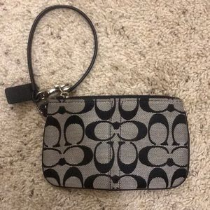 Coach Coin Purse with Wrist Strap
